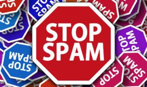 Comment ne plus recevoir de spam ?