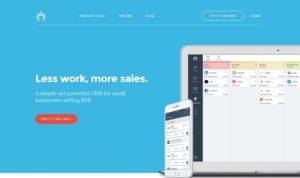 site Web de SalesFlare