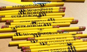 tas de crayons marqués WordPress